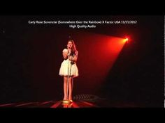 Carly Rose Sonenclar Somewhere Over the Rainbow High Qualtiy Audio...this little girl is awesome!