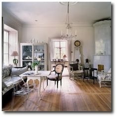 Blue Rooms Traditional Decor And White Walls On Pinterest