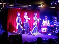 The Indigo and Le Serpent Rouge - Mardi Love, Rachel Brice and Zoe Jakes