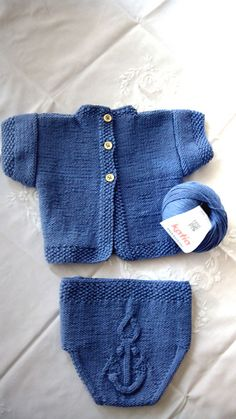 """Ravelry: """"Anchor"""" Baby clothing pattern by Ana Alfonsin"""
