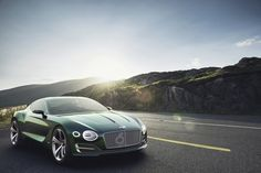Bentley's New EXP-10 Speed 6 Sports Coupe Concept