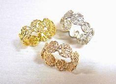 Gold rings by KAORU