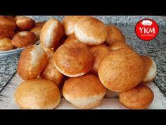 Yağ Çekmeyen Balon Pişi Tarifi (Kazakistan Pişisi) Pişi Tarifi Balon Pişi Nasıl Yapılır - YouTube Dough Recipe, Croissants, Pretzel Bites, Breakfast Recipes, Food And Drink, Tasty, Bread, Cookies, Deep Fry Batter