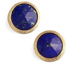 Women's Marco Bicego 'Jaipur' Stone Stud Earrings (€420) ❤ liked on Polyvore featuring jewelry, earrings, stone jewelry, marco bicego jewelry, stud earrings, marco bicego earrings and stone stud earrings