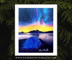 Picture Walls, Support Local, Mountain Art, Sign Printing, Moon Art, Local Artists, Handmade Art, Online Art, Canvas Wall Art