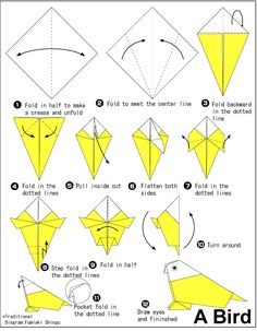 Origami Animation Diagrams Animated Diagram To Fold A