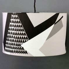 Lorna Syson Lands End Blizzard Lampshade - Small 20cm diameter x 14cm deep | LanBSH | £49.00