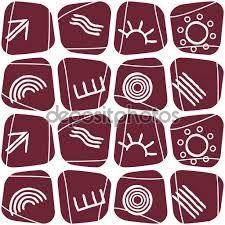 Resultado de imagen de simbolos aborigenesç