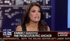 "How Crazy Is This?  Kimberly Guilfoyle of Fox News' ""The Five."" ""Excuse them"" from jury duty, she says of young beauties, ""so they can go back on Tinder and Match.com."""