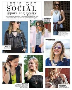 Some of our favorite bloggers who love Park Lane Jewelry.