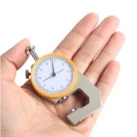 Tester Craft Micrometer Leather Silver Yellow Metal Thickness Meter Gift Thickness Gauge Leathercraft Width Measurement Sale Only For US $3.96 on the link Product Tester, Measuring Instrument, Leather Craft, Instruments, Yellow, Metal, Link, Silver, Gifts