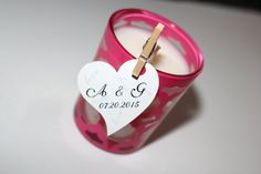 wedding favor tags personalized tagsthank you  tags by Madebygiani