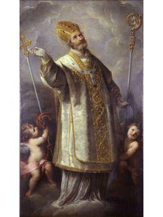 Saint Ambrose / San Ambrosio / Sant'Ambrogio // ca. 1645 // By Carlo Francesco Nuvolone (Milano 1609-1662) // Museo Diocesano, Milano