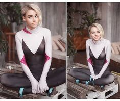 Will we ever see Gwen Stacy in the next spider man game? Gwen Stacy, Cosplay Outfits, Cosplay Girls, Gwen Spiderman, Miles Spiderman, Yennefer Cosplay, Spider Gwen Cosplay, Spider Girl Costume, Marvel Cosplay