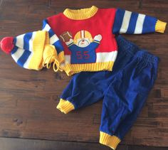 6e3db7b60d Vintage 1980s Football Outfit Adorable Cowboys by MY2NDJOB on Etsy Vintage  Baby Clothes