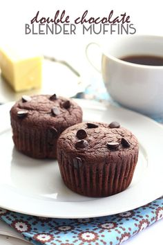 Deeply chocolate-y low carb, grain-free muffins made easy in your blender. These are the best ketochocolate muffins you will ever make! A wonderful healthy breakfast or snack. I think my kids could subsist solely on my homemade muffins. And really, would that be such a bad thing? I think I do a pretty good job of making muffins that are both healthful and delicious, and I'd certainly rather have them wolfing down my muffins than so many other things. Breakfast time with three kids is cha...