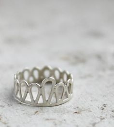 Silver Filigree Knuckle Ring