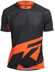 KTM factory Maglia Enduro shortsleeve. Black Orange taglia L: Amazon.it: Sport e tempo libero Ktm Exc, Orange, Amazon, Sports, Tops, Fashion, Hs Sports, Moda, Amazon Warriors