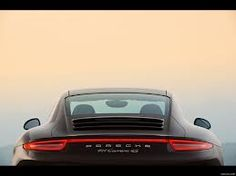 Porsche 911 rear view. One of the most gorgeous cars on the road.