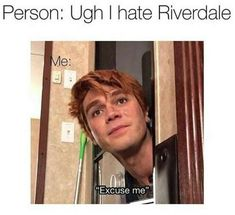 NO to Riverdale haters! everyone has to love Riverdale cuz its da best … NO to Riverdale haters! everyone has to love Riverdale cuz its da best thing in the WORLD! Excited for the new episodes! Memes Riverdale, Kj Apa Riverdale, Riverdale Funny, Riverdale Archie, Riverdale Tv Show, Riverdale Characters, Riverdale Cole Sprouse, Archie Andrews, Funny Memes