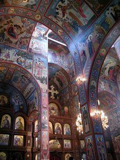 orthodoxchurches:  New Gracanica Serbian Orthodox Church in Grayslake, Illinois, USA. (by zenosaurus)