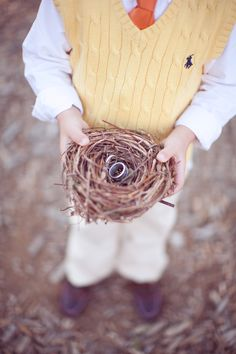 Nest ring holder. Photo by AbiQPhotography.com