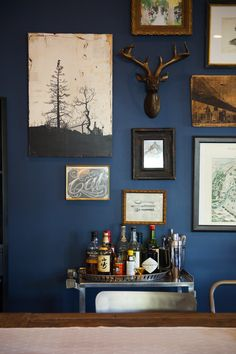 15 Beautiful Blue Rooms | Blue dining room decor ...