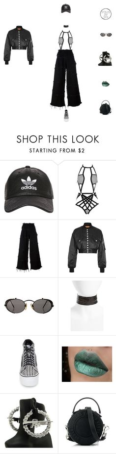 """""""Slush"""" by xseamacx ❤ liked on Polyvore featuring adidas, Hauty, Marques'Almeida, Alexander Wang, Jean-Paul Gaultier, Topshop, Vans and Versus"""
