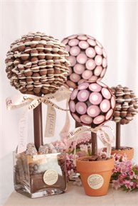 The most fabulous looking trees made out of chocolate and sweet!  I can't wait to see their Christmas present range (5th October)