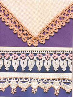 Artes by Cachopa - Croche & Trico: Barrados