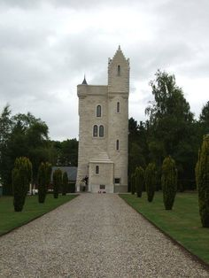The Ulster Tower Near Pozieres  Somme.