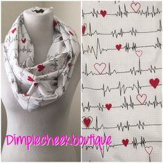 Nurses are amazing. Thats really the only thing I need to type here... Because nurses are simply amazing! This scarf is the perfect gift for