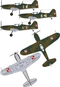 Polish pzl 62 fighter Aircraft Parts, Ww2 Aircraft, Military Aircraft, War Thunder, Aircraft Painting, Ww2 Planes, Military Weapons, Aviation Art, Armored Vehicles