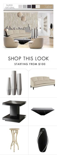"""""""Neutrals 4"""" by mysfytdesigns ❤ liked on Polyvore featuring interior, interiors, interior design, home, home decor, interior decorating, ACME, Moooi, Dartmoor and White Label"""