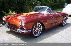 THE BOSS.........LOVE IT! 1962 Chevrolet Corvette Convertible from the Ron…