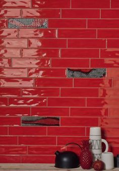 LL074 (1) Red Tiles, Mosaic Tiles, Matrix 3, Favorite Color, Wall Lights, Dots, Watercolor, Reggae, Kitchens