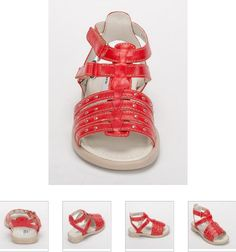 #Children's #Cherie #Sandals - Red #Leather Kids #Shoes. http://www.rinastore.com/1710-cherei-sandals-red/dp/2331  #MadeInItaly Available at Rina's #Italian #Shoe #Boutique. On Sale Now!