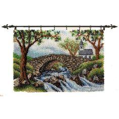 Craftways® Country Stone Bridge Latch Hook Kit