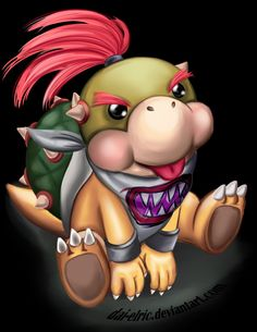 Bowser Jr. • Super Mario