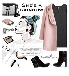 """""""Beautiful Halo **"""" by intellectual-blackness ❤ liked on Polyvore featuring Forever 21, Carianne Moore, Clé de Peau Beauté, Gucci, maurices and beautifulhalo"""