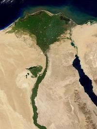This is an amazing satellite image of the Nile River Delta as seen from orbit. Located in North East Africa, the Nile River is largely agreed to be the longest river in the world, reaching 6650 kilometres miles) in length. Marine Plants, Visit Egypt, Nile River, Story Of The World, Hotels, Ancient Civilizations, Ancient Egypt, Ancient History, Deserts