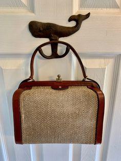 Cute Handbags, Vintage Handbags, Key Case, Etienne Aigner, 50 Years Old, Vintage Coach, Hang Tags, Beautiful Bags, Red Leather