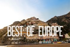 Backpacking Europe - Morgan and I WILL DO THIS!!!