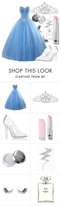 """Untitled #156"" by harleyquin13 ❤ liked on Polyvore featuring Kate Marie, Dolce&Gabbana, NYX, Unicorn Lashes and Chanel"