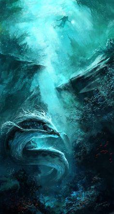 """""""Dr. Hawkin's Last Dive"""" by jbsc on deviantArt"""