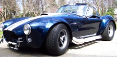 "Feb of 1964 we were big into the surf and car sounds on our radio and The Rip Chords were hot with their song ""Hey Little Cobra"" Ford Mustang Shelby, Ford Gt, Ford Motor Company, Fancy Cars, Cool Cars, Ac Cobra 427, Mustang Gt500, Car Sounds, Vintage Cars"
