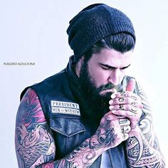 Is this Sons of Anarchy or the Zig-Zag guy with tats? Either way, looking good.