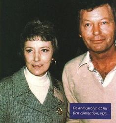 De and Carolyn in 1973