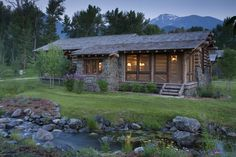 LOVE this screen porch on the cabin....  360 Ranch - Guest Cabins - Architect Portfolio | Miller Architects