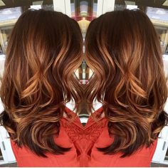 ✨ gorgeous copper #balayage ✨ @saravioletlarose                                                                                                                                                     More